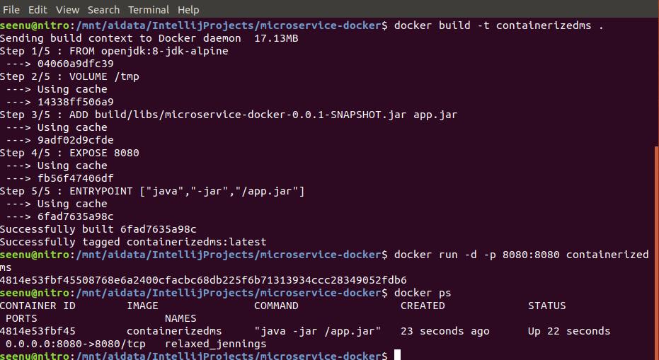 Docker   Seenu's AI-licious blog